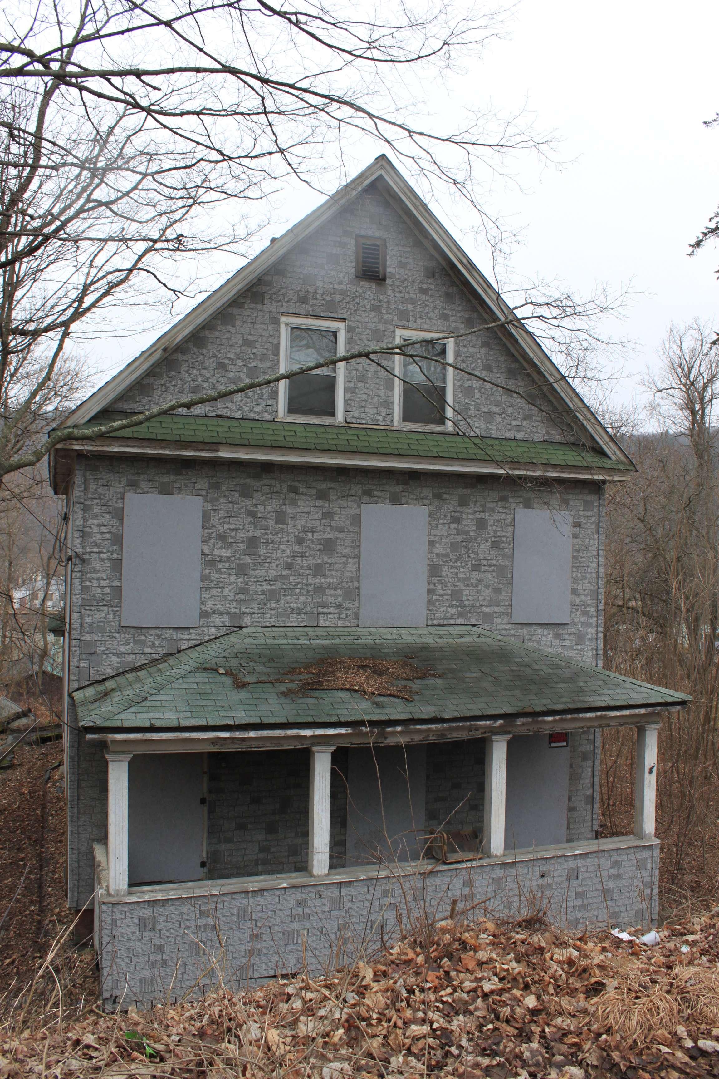 Abandoned Vermont Windsor House Preservation Pink