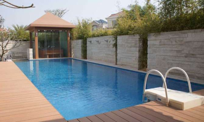 Above Ground Pool Deck Plans Swimming Pools Wooden Oval