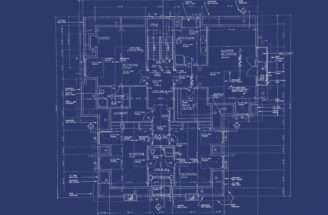 Abstract House Blueprint