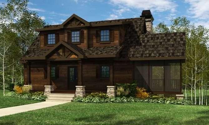 Acadia Mountain Cottage Plans Pinterest