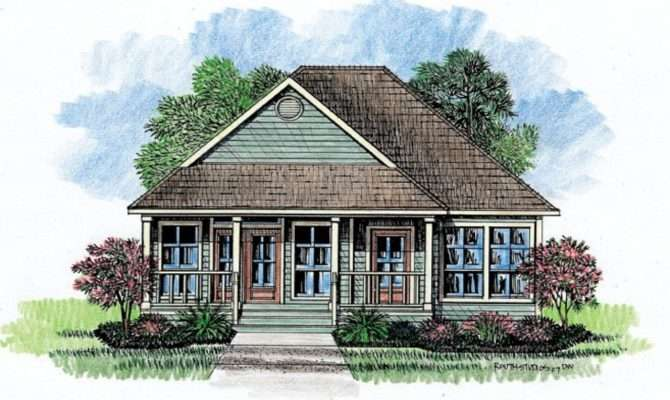 Acadian Cottage House Plans French