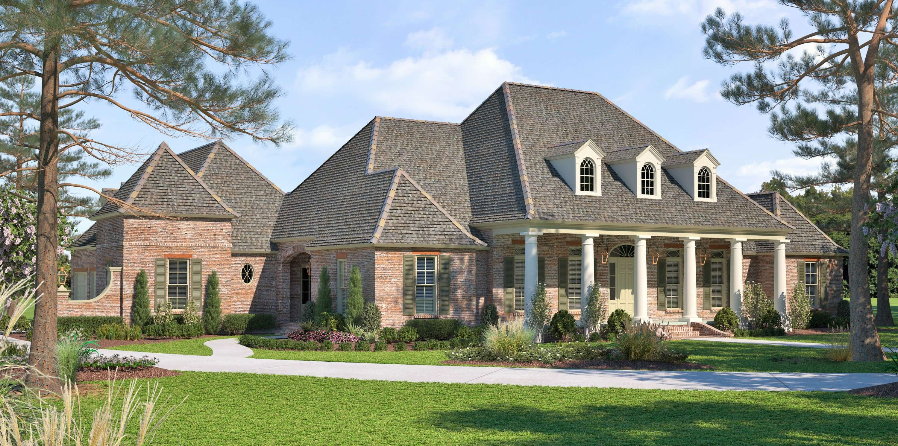 Acadian House Plans French Country Custom Plan