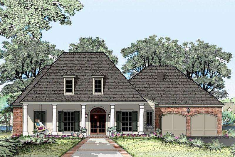 Acadian Style House Plans Square Feet