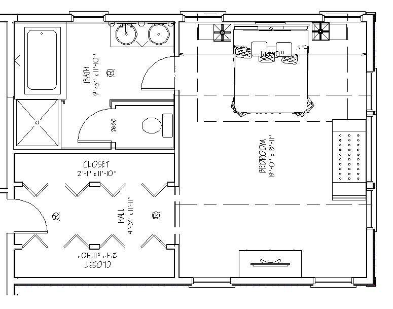 Accessible Master Bedroom
