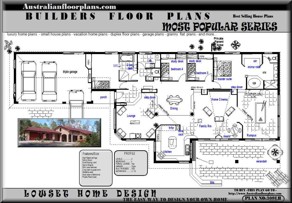 Acreage Home Plans Unique House