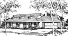 Adana Country Ranch Home Plan House Plans More