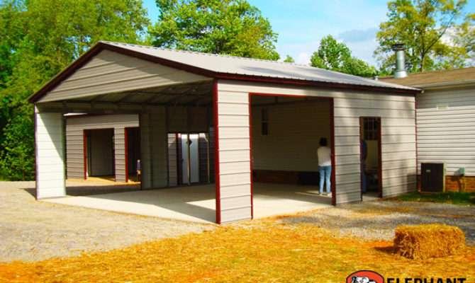 Adding Garage Carport Old Brick House