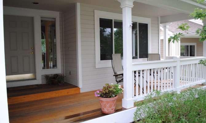 Adding Porch House Home Design Ideas