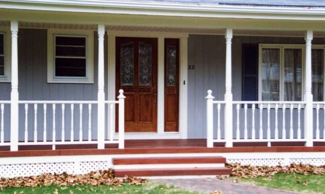 Adding Porch Ranch Style House Porches