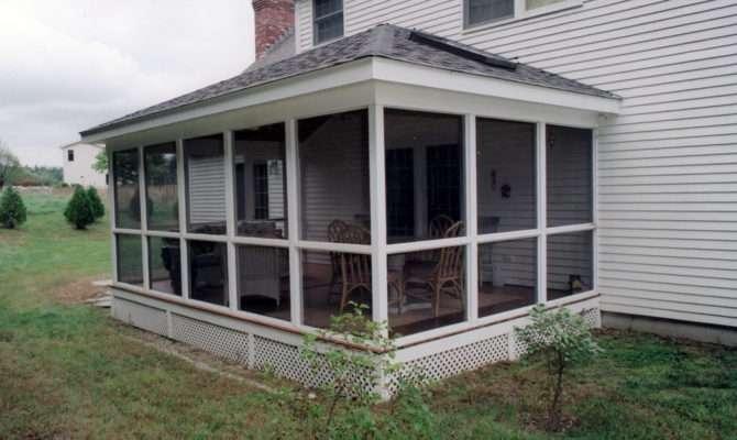 Adding Screened Porch House Assume