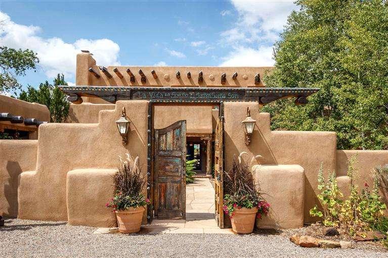 Adobe Fence Southwestern Style Pinterest