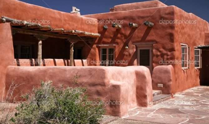 Adobe House Pueblo Houses Pinterest