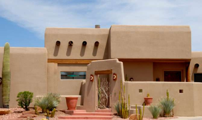 Adobe Pueblo House