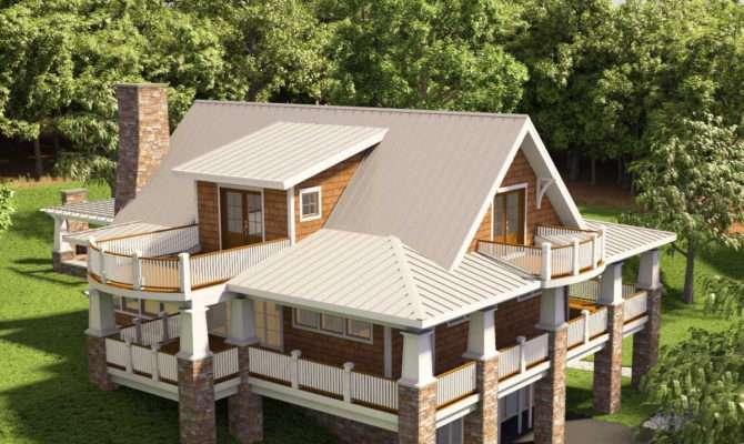 Adorable Cottage Wraparound Porch
