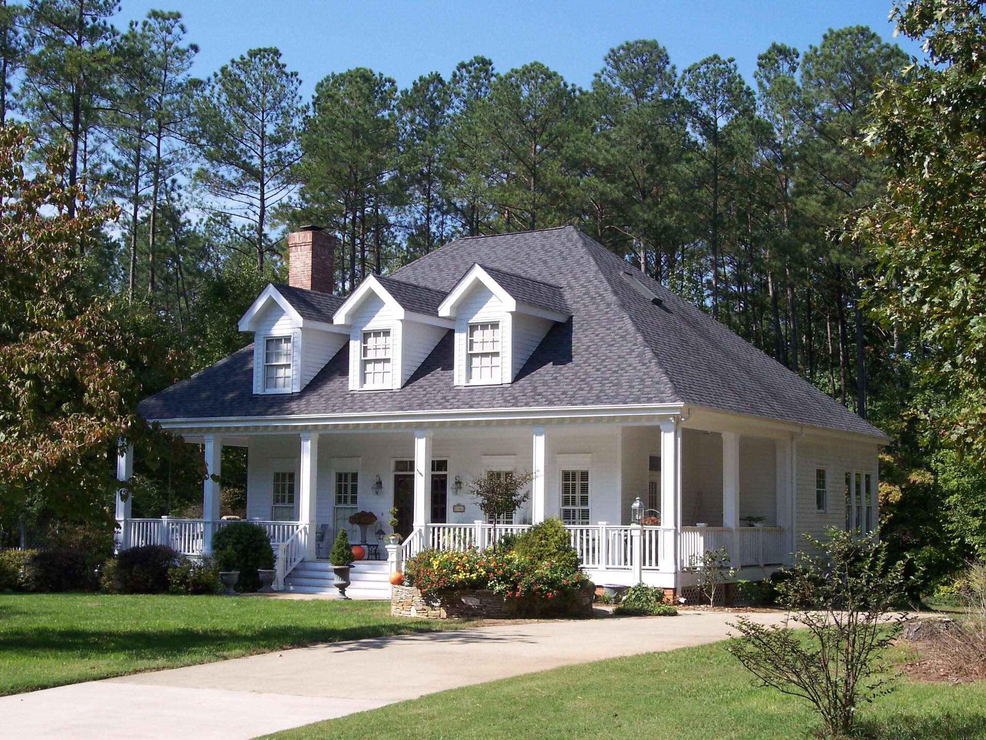 Adorable Southern Home Plan Floor Master