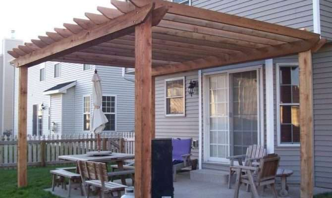 Affordable Cost Effective Pergola Attached House
