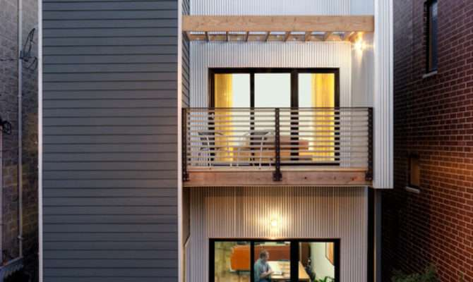 Affordable House Plans Narrow Lots