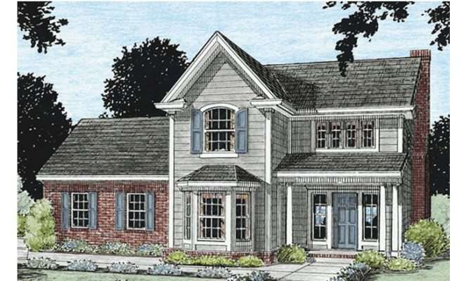 Affordable House Plans Two Story Home Plan