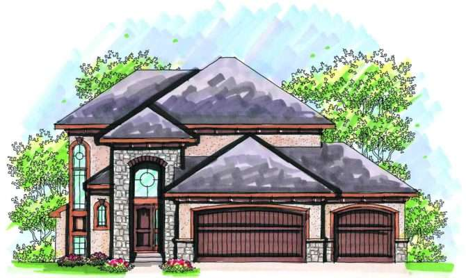 Affordable Two Story Design Architectural