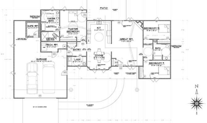 Aging Place House Plans Structural Features New Home