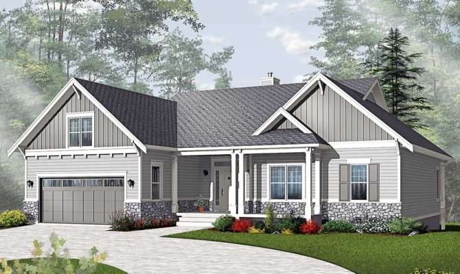 Airy Craftsman Style Ranch Architectural