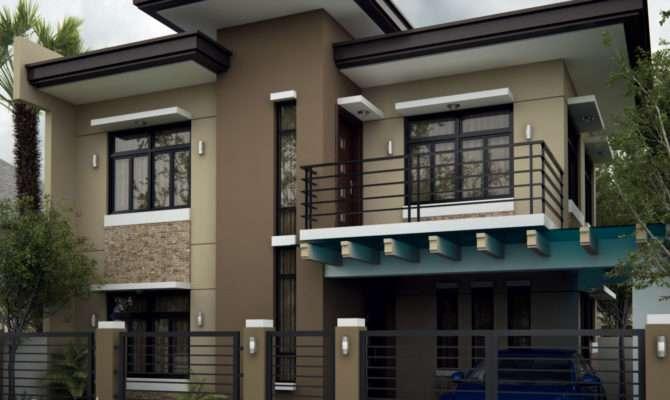 Alluring Modern Residential House Home Design