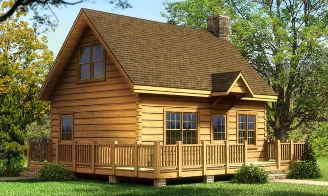 Alpine Log Home Cabin Plans