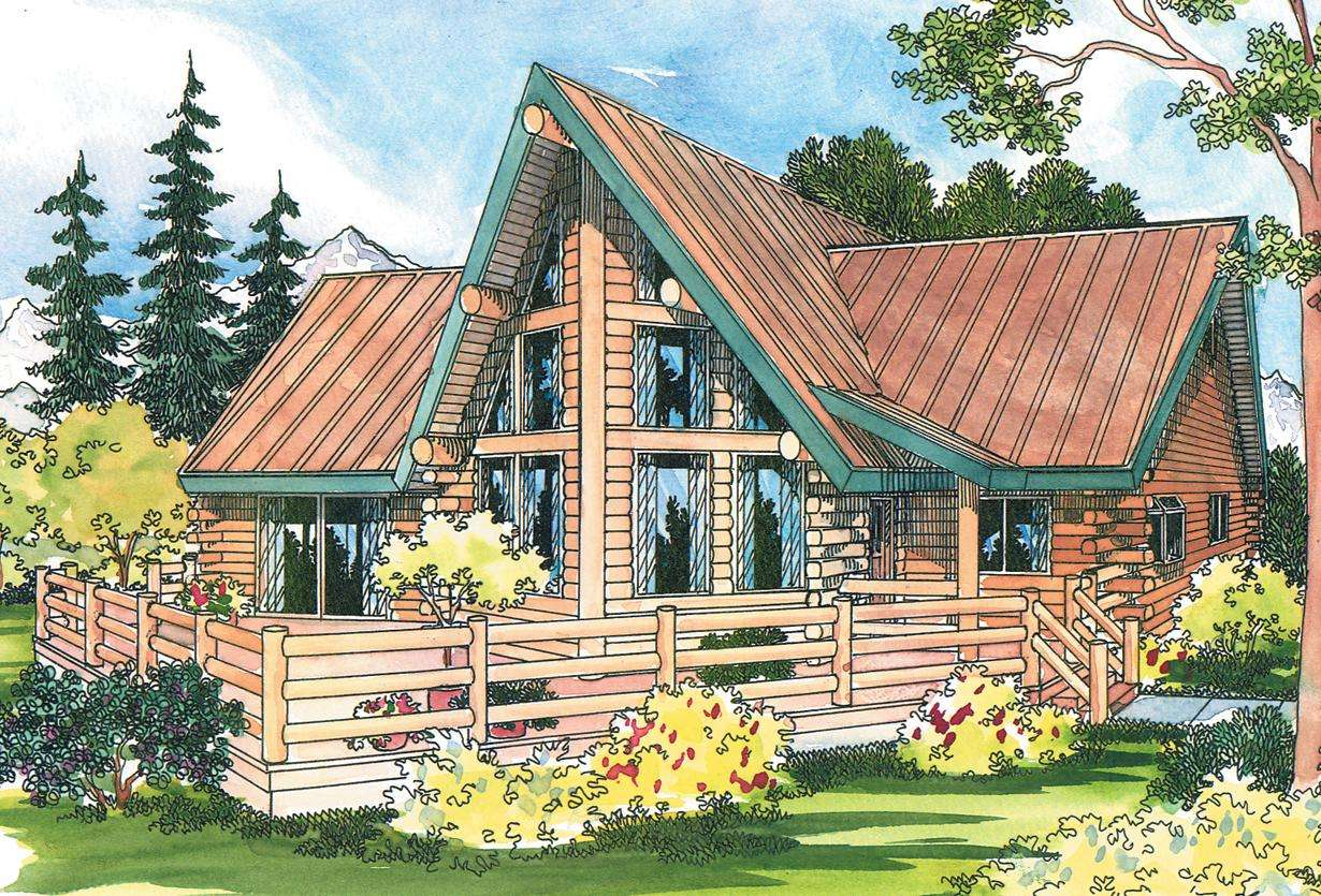 Altamont Frame House Plans Log Home Vacation