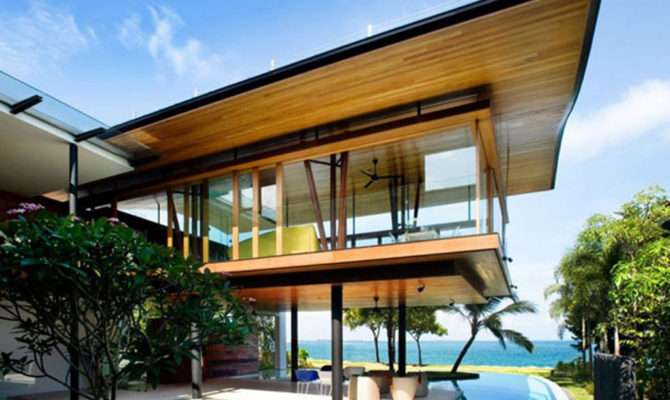 Amazing Beach House Designs Guz Architects Iroonie
