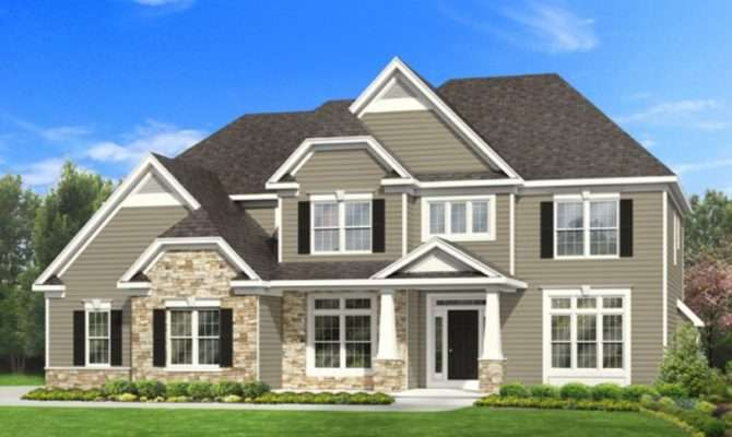 Amazing Craftsman Story Home Plans House Style