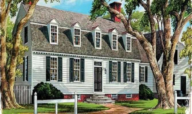 Amazing Dutch Gambrel House Plans Many Resolutions