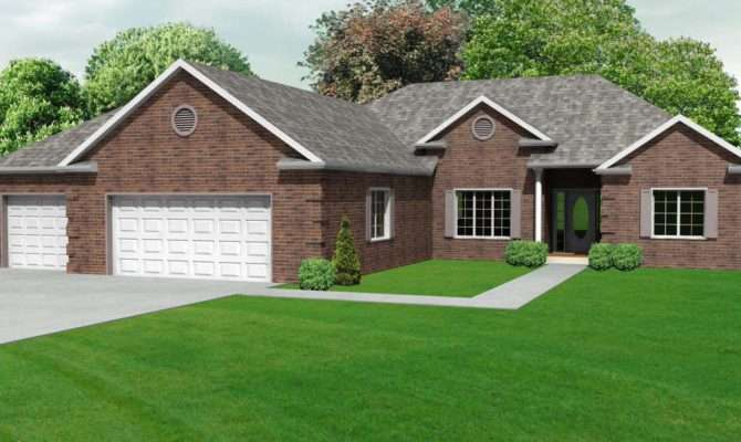 Amazing Ranch Homes Plans House