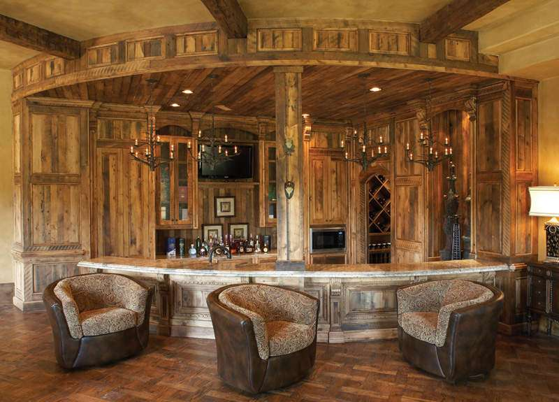 Amazing Rustic Home Bar Design Ideas Jpeg