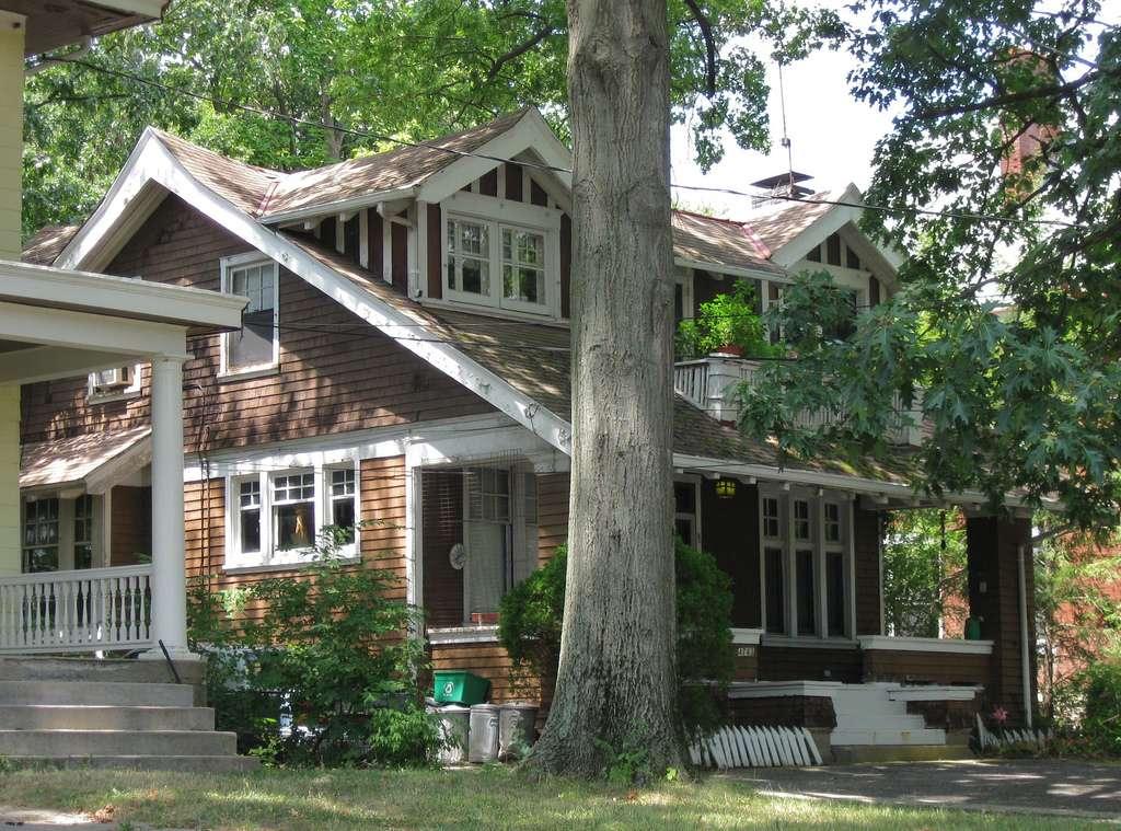 American Craftsman Bungalow Winton Place Quaint