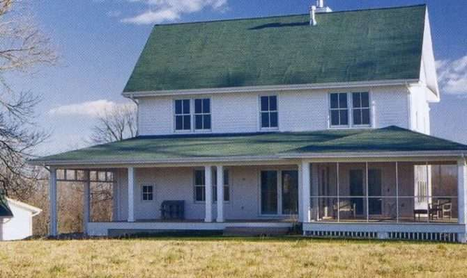 American Farmhouses Looking Farmhouse Plan Building Home