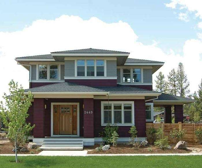 American Foursquare House Plans Love