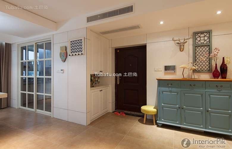 American Home Interior Porch Design Effect