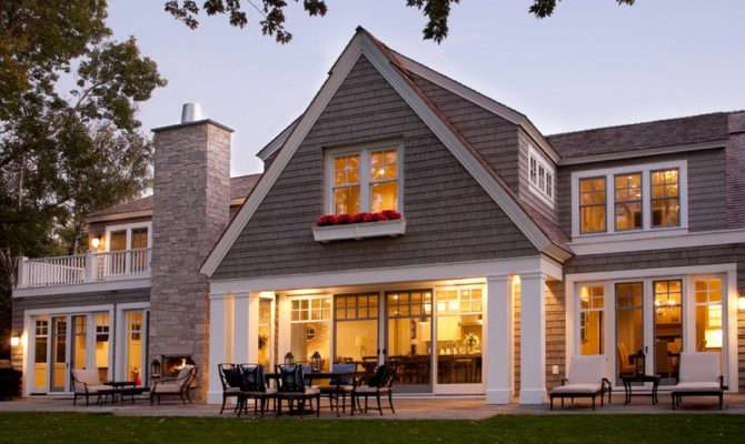 American Style Home Design Architectural House Ideas
