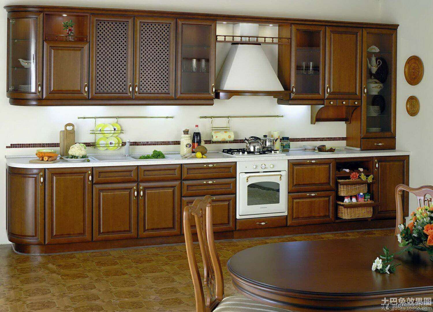 American Style Open Kitchen Decoration