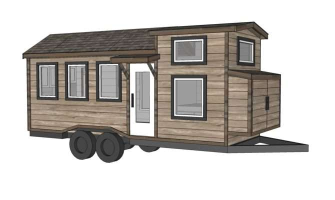 Ana White Quartz Tiny House Plans