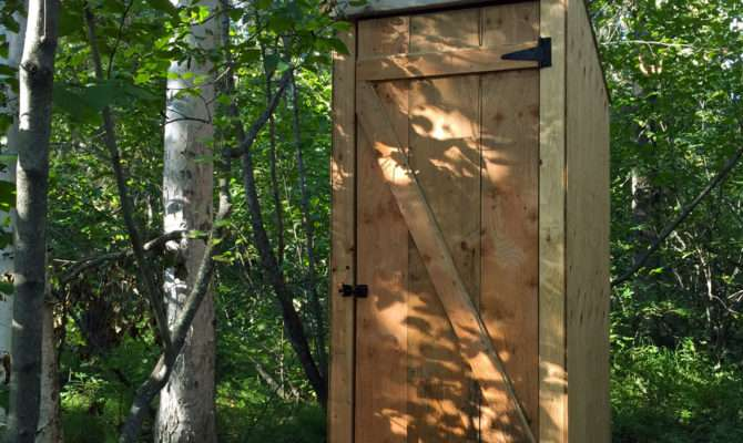 Ana White Simple Outhouse Diy Projects