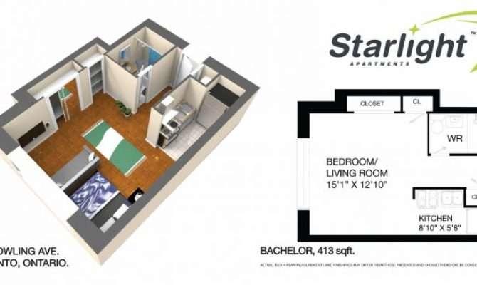 Apartment Bachelor Floor Plan
