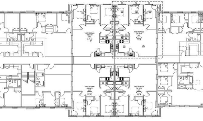 Apartment Block Plans Decorating Ideas