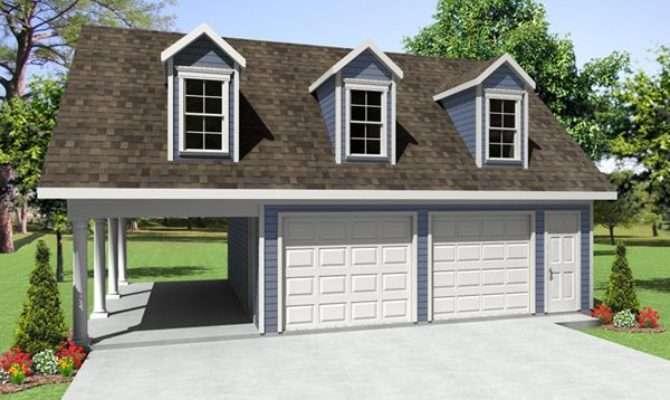 Apartment Car Garage Plans Backyard