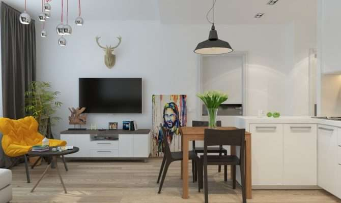 Apartment Designs Under Square Feet