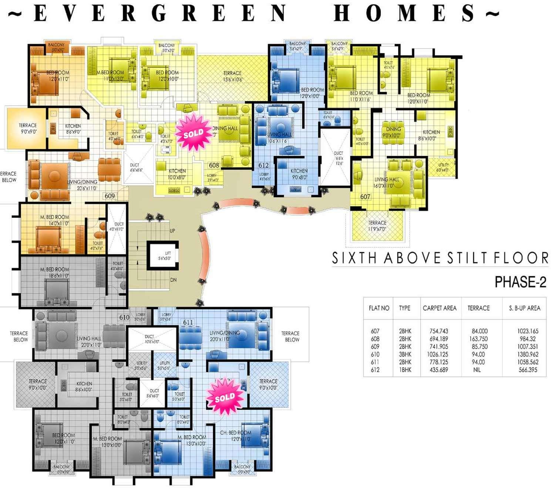 Apartments Apartment Plans Sqm Architecture