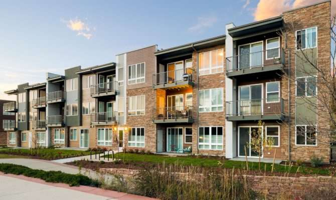 Apartments Boulder Walk Design Ktgy Architects