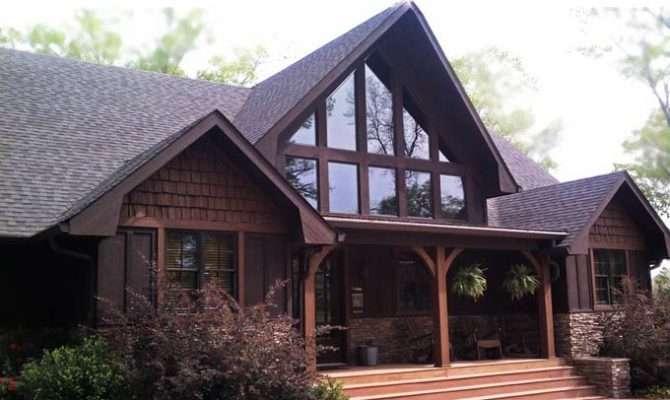 Appalachia Mountain Frame Lake House Plan