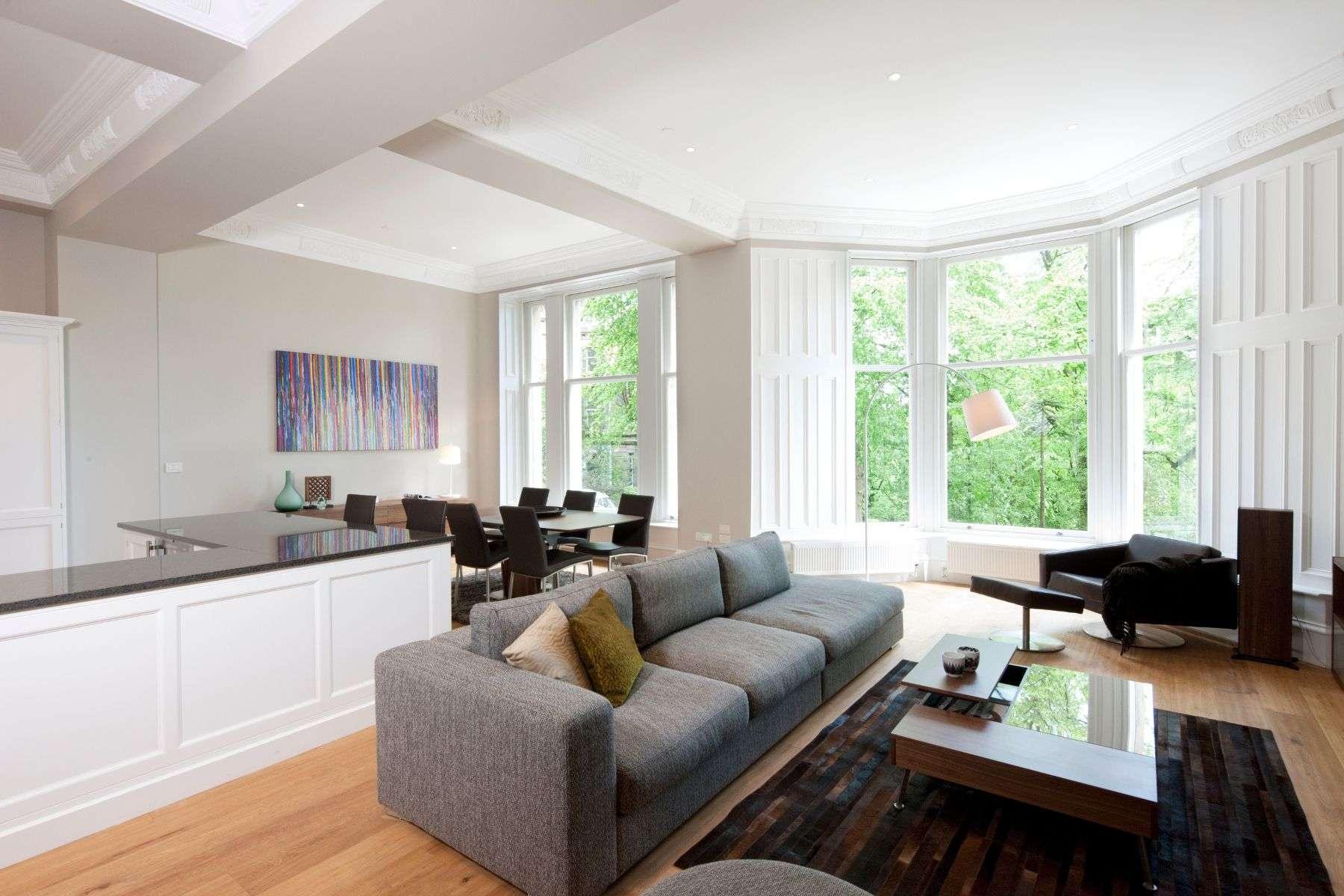 Applying Modern Open Space Living Room Gosiadesign
