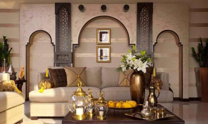 Arab House Tours Entrance Lobby Interior Design Mohamedmansy